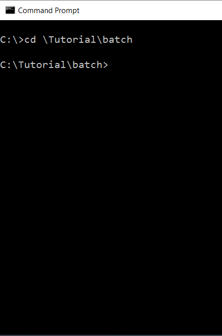 Batch File Scripting ©
