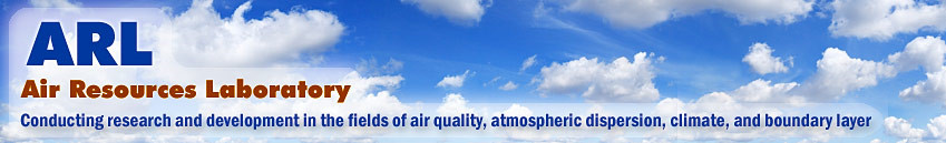 Air Resources Laboratory banner image
