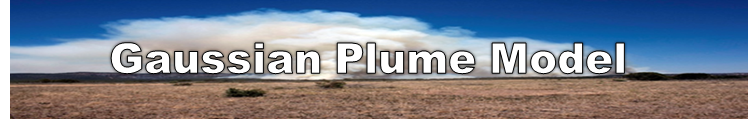 READY - Gaussian Plume Model