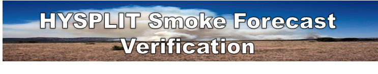 Smoke Forecast Verification